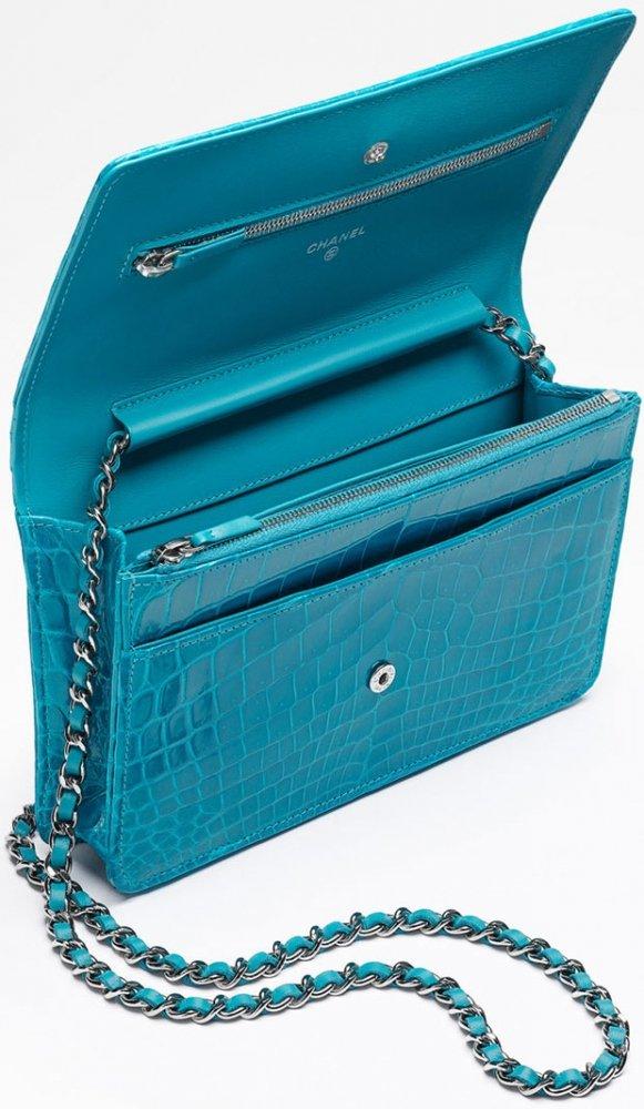 Chanel WOC Alligator in Turquoise – Bragmybag