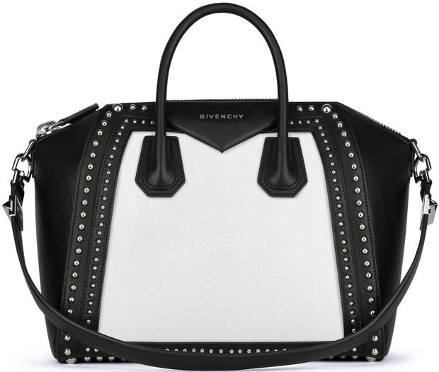 Givenchy-Antigona-medium-bag-in-grained-leather-and-studded-frame