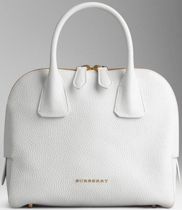 Burberry Small Grainy Leather Bowling Bag | Bragmybag