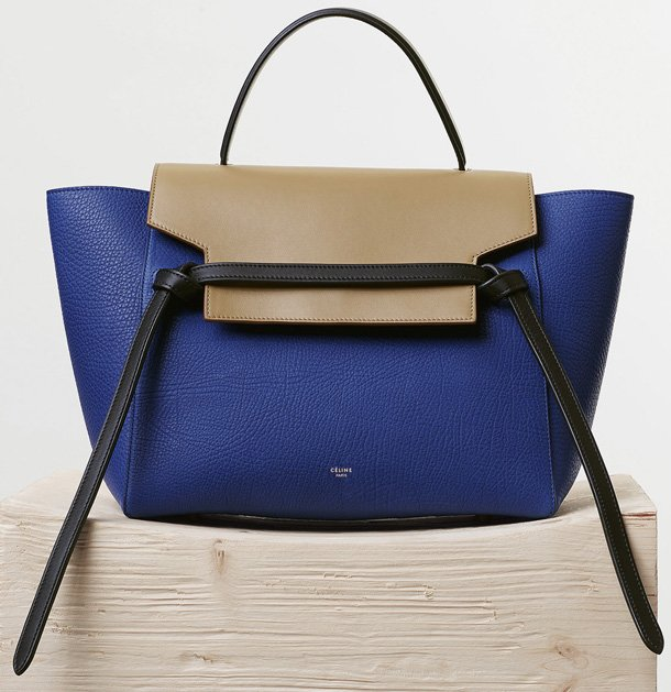 Celine-Mini-Belt-Bag-in-Indigo-Elephant-Calfskin