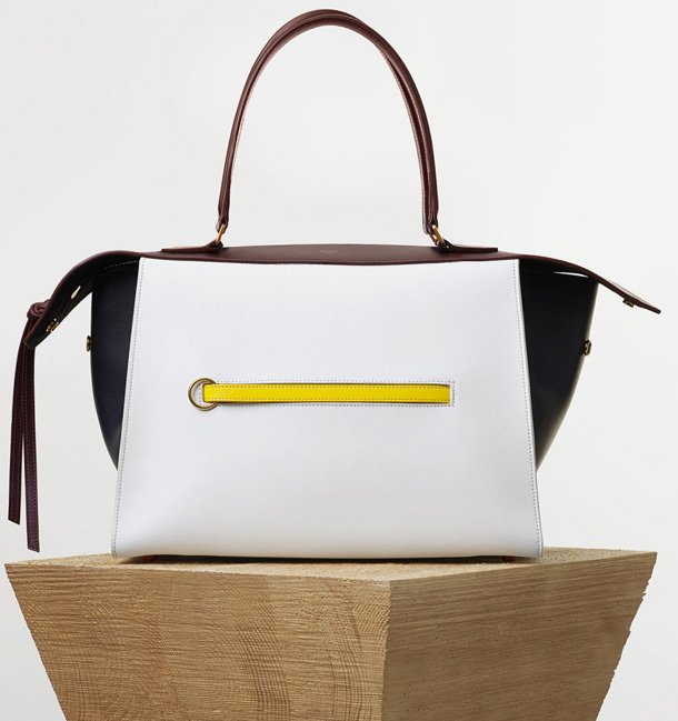 Celine-Small-Ring-Bag-in-White-Smooth-Calfskin