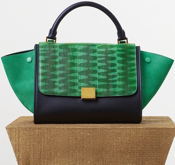Celine-Small-Trapeze-Bag-in-Palm-Tiger-Snake-and-Calfskin