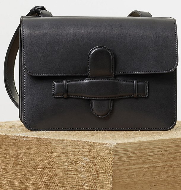 Celine-Symmetrical-Bag-in-Black-Natural-Calfskin