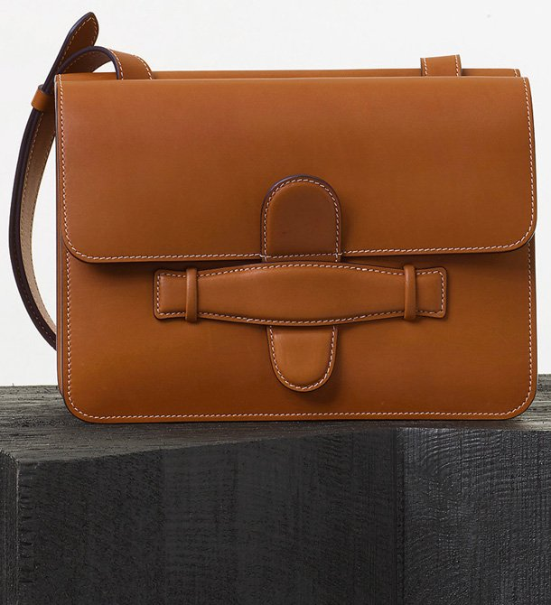 Celine-Symmetrical-Bag-in-Tan-Natural-Calfskin
