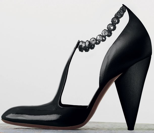 Celine-Tango-Chain-Ankle-Strap-Pump-in-Black-Patent-Calfskin