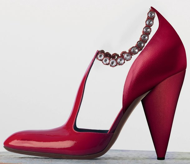 Celine-Tango-Chain-Ankle-Strap-Pump-in-Red-Patent-Calfskin