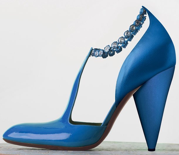 Celine-Tango-Chain-Ankle-Strap-Pump-in-Turquoise-Patent-Calfskin