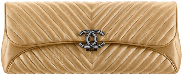 Chanel-Chevron-Evening-Clutch-Bag
