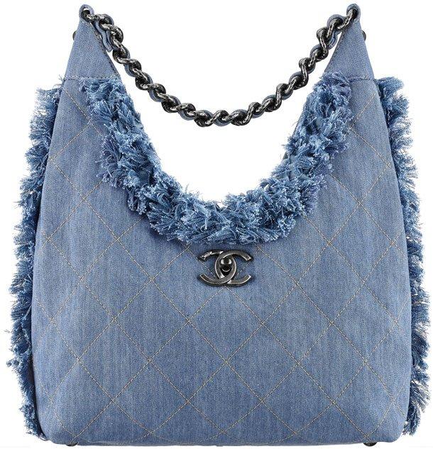Chanel-Denim-Hobo-Flap-Bag-with-fringes