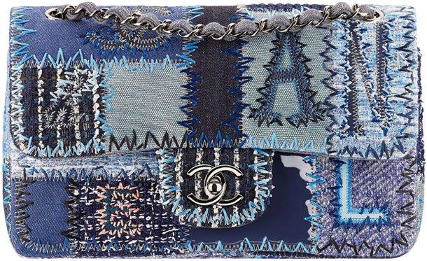 Chanel-Denim-Patchwork-Flap-Bag
