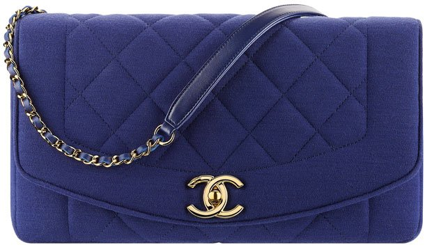 Chanel-Large-Vintage-Flap-Bag-in-Jersey