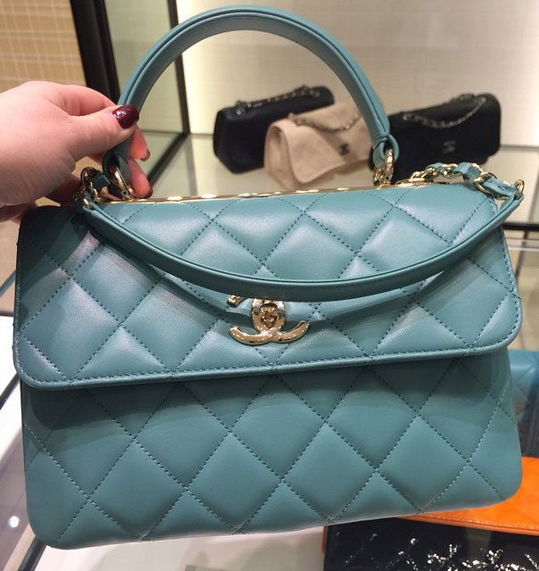Chanel-Trendy-CC-Bag-green