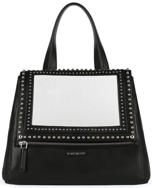 Givenchy-Pandora-Pure-medium-bag-in-grained-leather-and-studded-frame