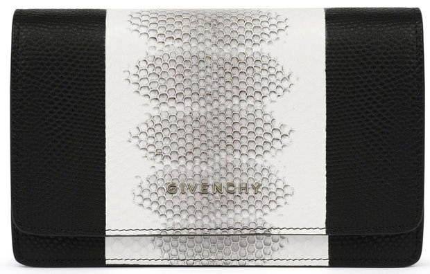 Givenchy-Pandora-chain-wallet-in-contrasted-watersnake