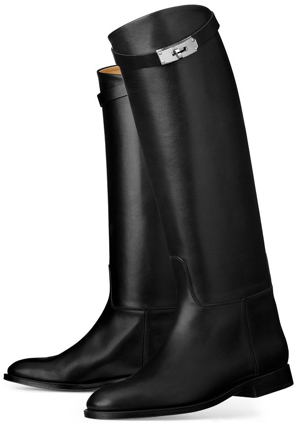 Hermes-Jumping-Boot-black