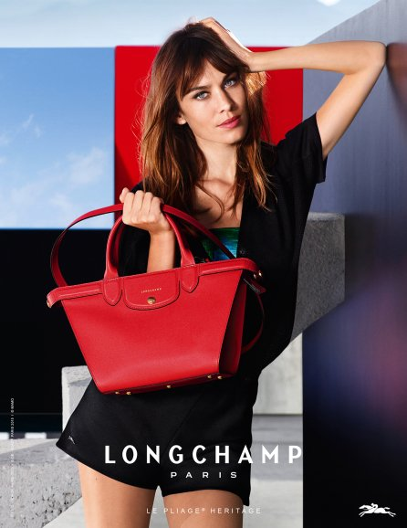 Longchamp-Spring-Summer-2015-Ad-Campaign-Featuring-Mini-Le-Pliage-Heritage-Bag