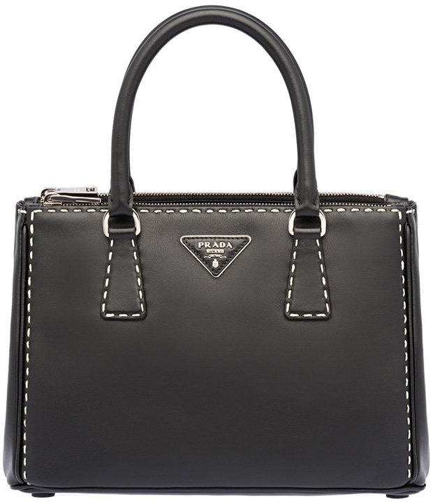 Prada-Hand-stitched-City-Calf-leather-tote