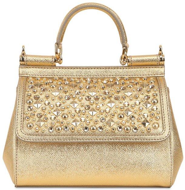 Dolce-Gabbana-Small-Golden-Sicily-Bag
