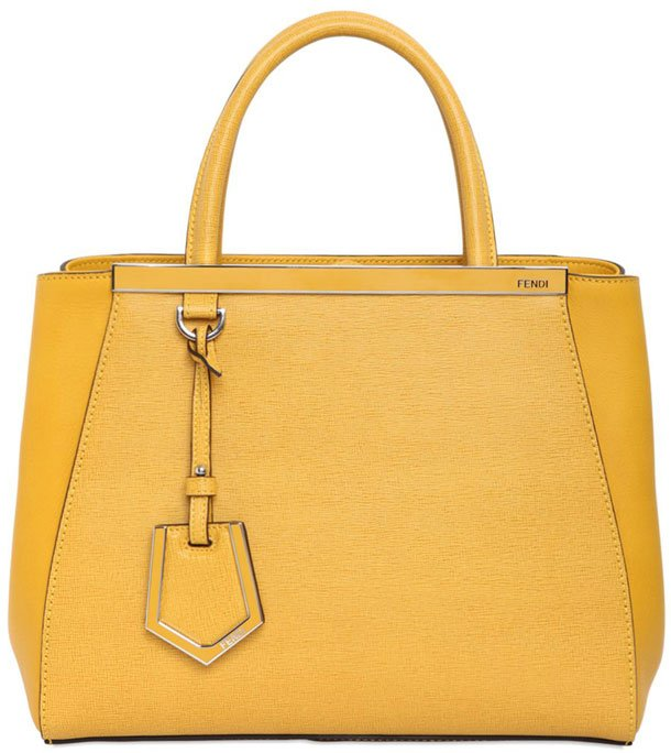 Fendi Yellow Handbags
