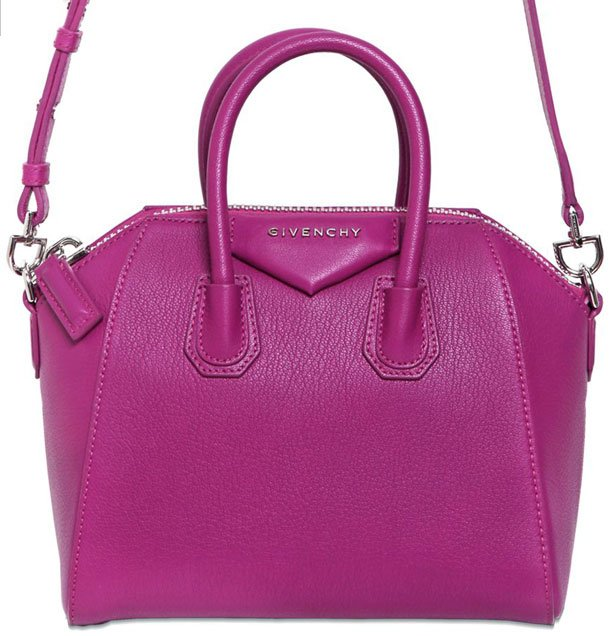 Sale Authentic Clearance Low Shipping Fee Pink Antigona Leather Pouch - Pink & Purple Givenchy mZo0b