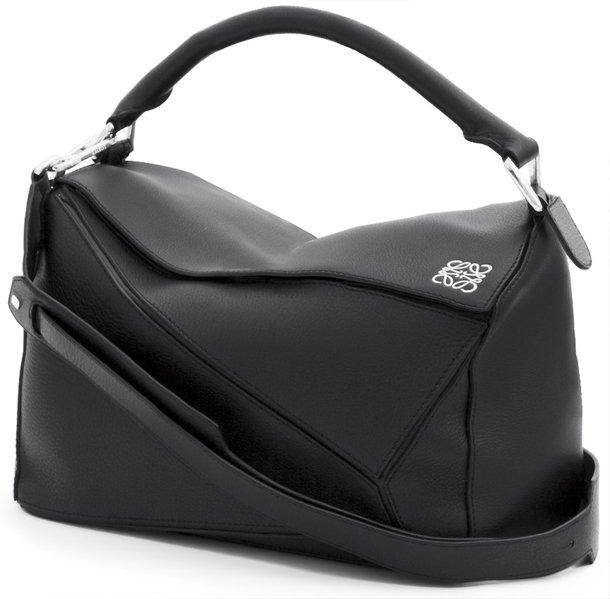 Loewe-Puzzle-Bag-black