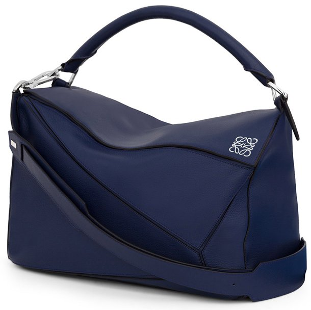 Blue Medium Puzzle Bag Loewe X1xtBas