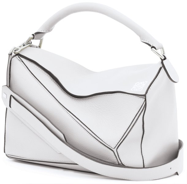 Loewe-Puzzle-Bag-white