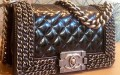 Chanel Boy Chained Flap Bag