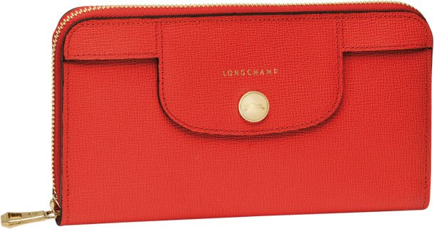 Longchamp-Le-Pliage-Heritage-Wallet-orange