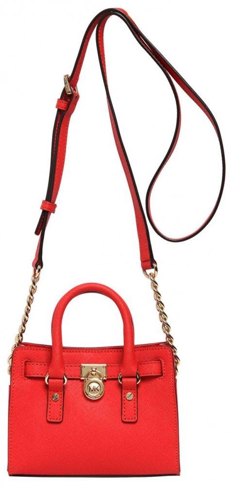Micheal-Micheal-Kors-Mini-Hamilton-Saffiano-Leather-Bag-red