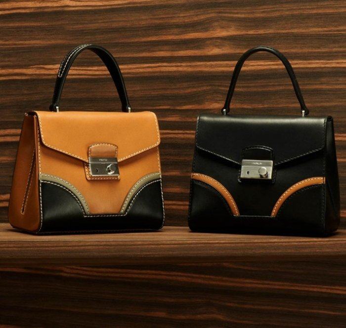 Prada-Calf-Leather-Briefcase