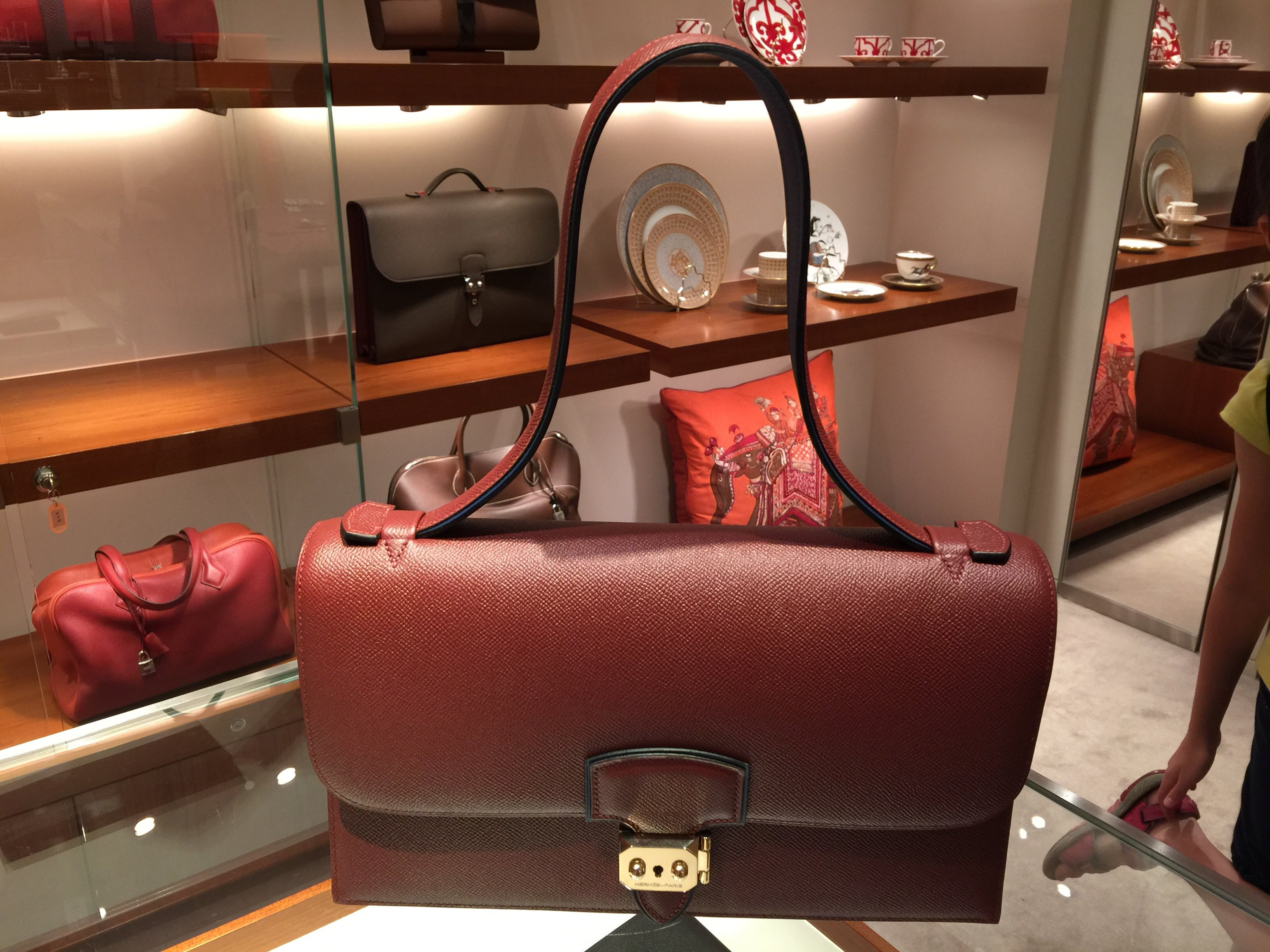 79152dc093da ... in Hermes Store in Taiwan. Can someone tell me what this bag is called   I overheard that this is a rare piece to come by. Is it  Thank you! July 6