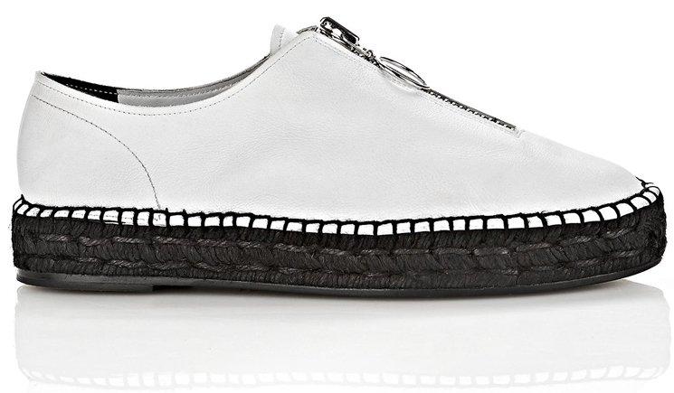 Alexander Chaussures De Sport Wang Devon Espadrille - Gris FT5Y4A5Uri