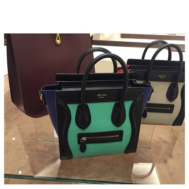 cheap celine bag replica - Celine Luggage Tote Bag For Summer 2015 Collection | Bragmybag