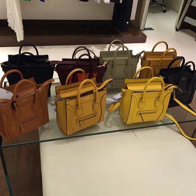 celine clutch price - Celine Luggage Tote Bag For Summer 2015 Collection | Bragmybag