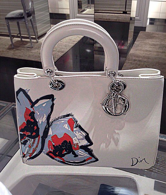 Diorissimo-Roses-Signature-Bag