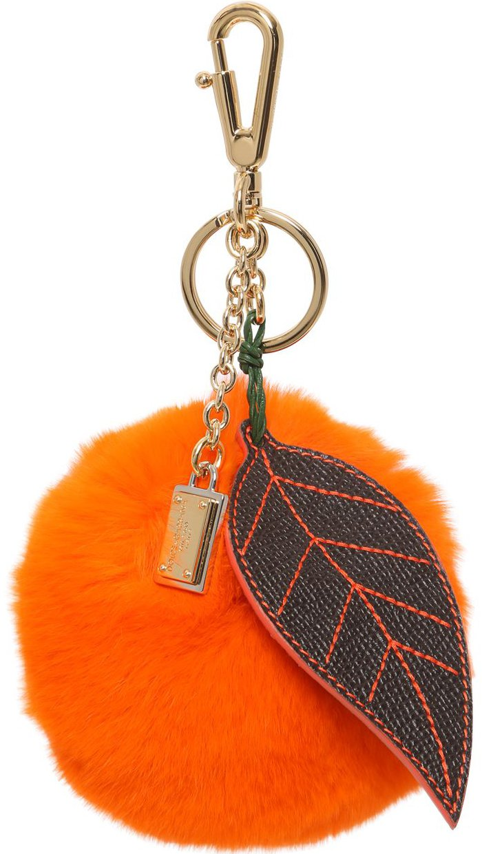 Dolce And Gabbana Sicilian Fruit Lapin Bag Charm Bragmybag