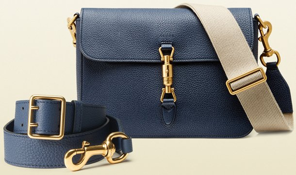 8269e8e693c3 Gucci Jackie Soft Shoulder Bag with Large Strap | Bragmybag