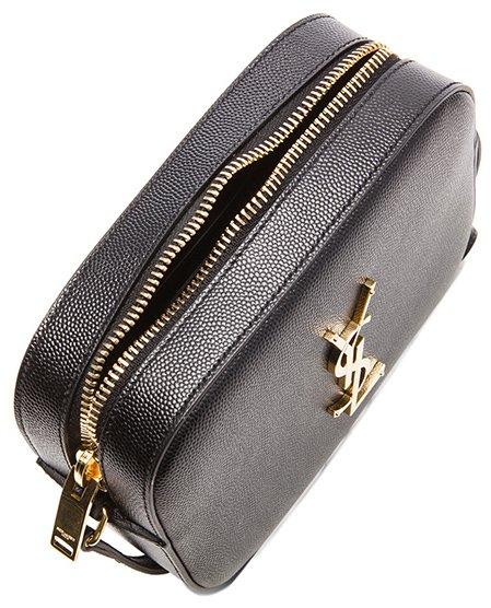 Classic Small Monogram Saint Laurent Camera Bag In Black