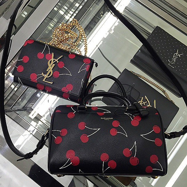 Yves Saint Laurent Cherry Bags | Bragmybag