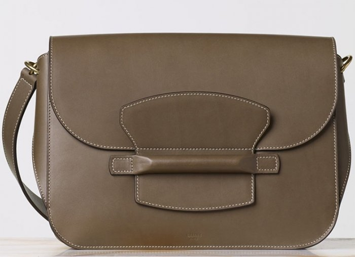celine medium symmetrical bag in natural calfskin