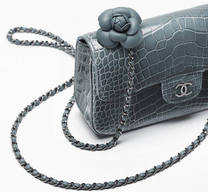 bece23a5632a Chanel-Shiny-Aligator-Flap-2. Alligator LeatherCamellia Bagchanelclassic ...