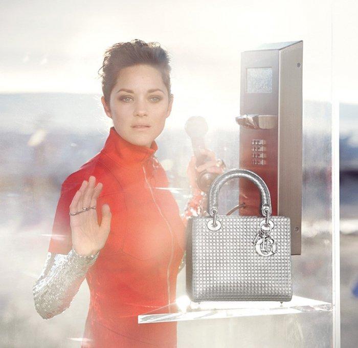 Lady-Dior-Silver-Tote-Bag