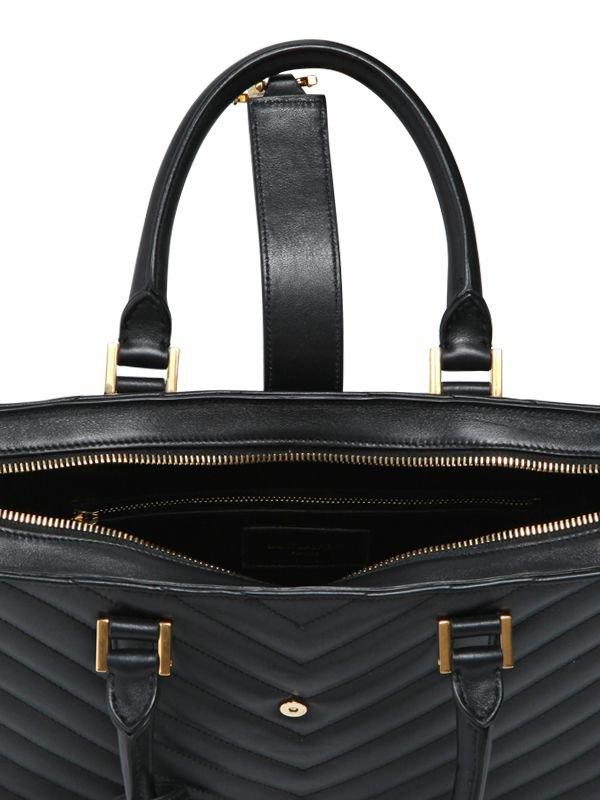 yves saint laurent cassandre - Saint Laurent Small Cabas Monogramme Quilted Bag | Bragmybag