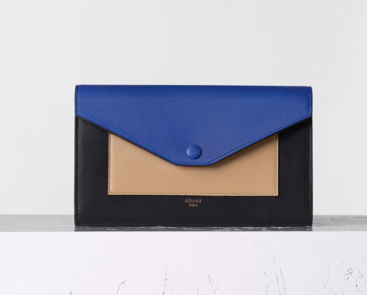 Celine-Pocket-Large-Flap-on-Chain-in-Cobalt-2