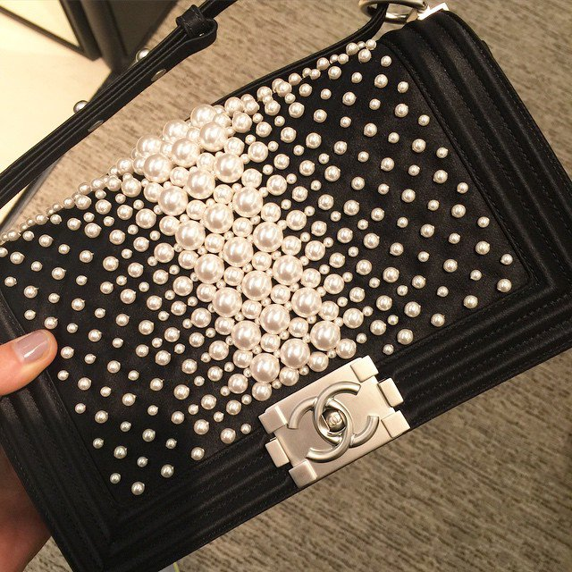 Chanel-Boy-Pearls-Flap-Bag