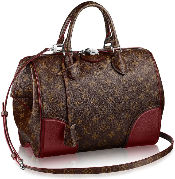 Louis-Vuitton-Doc-Bag-red