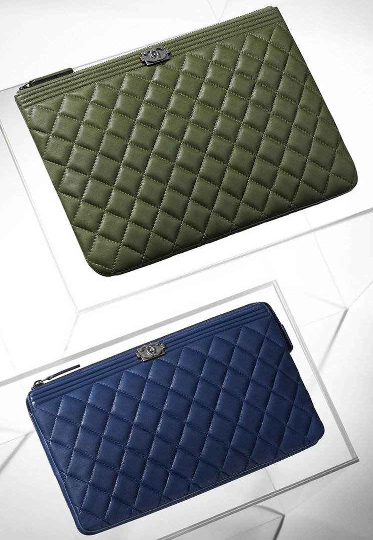 ec9ce9267de99f Boy Chanel Quilted Pouches | Bragmybag