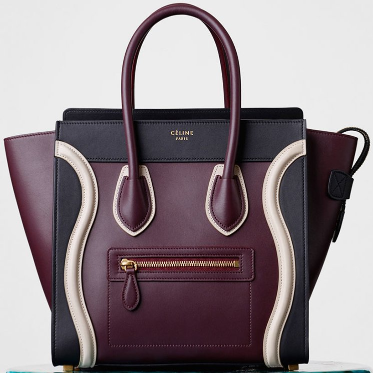 celine replica handbags - Celine Winter 2015 Classic Bag Collection | Bragmybag