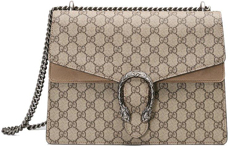 Gucci Dionysus Gg Supreme Shoulder Bag
